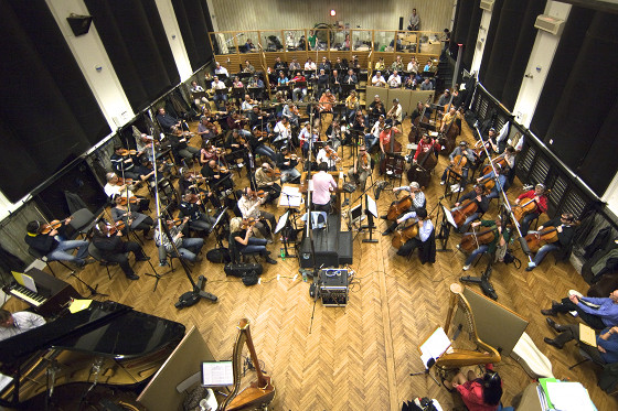 The City of Prague Philharmonic Orchestra at Smecky Music Studios