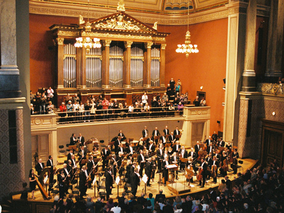 The City of Prague Philharmonic Orchestra at Dvorak Hall, Rudolfinum